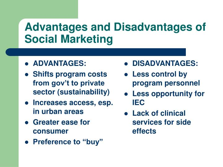 advantages and disadvantages of digital marketing planning Advantages & disadvantages of digital marketing  and your strategy might not  be set in stone (permanent) for a long time, and some of the.