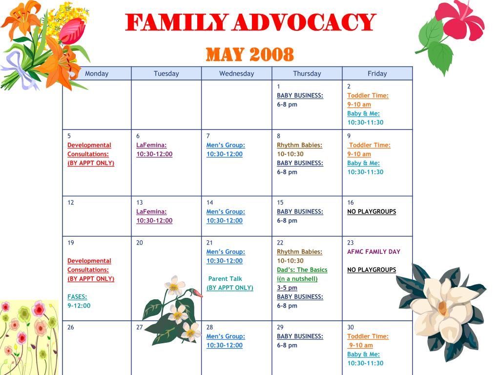 family advocacy may 2008 l.