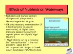 effects of nutrients on waterways
