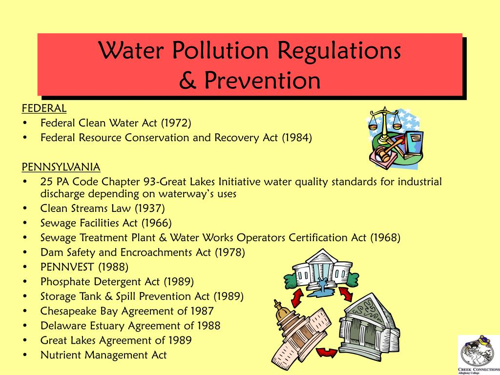 Water Pollution Regulations