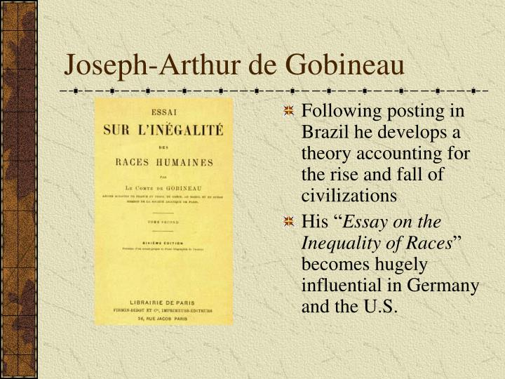 an essay on the inequality of the human races arthur de gobineau