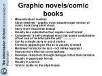 graphic novels comic books