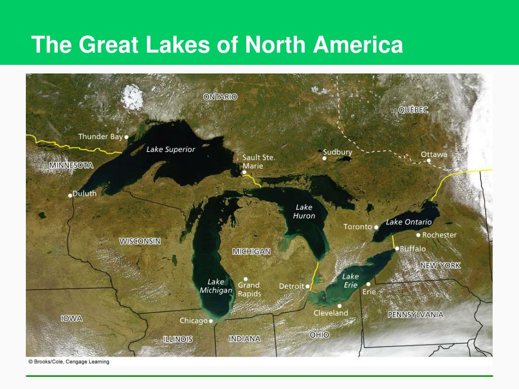 The Great Lakes of North America