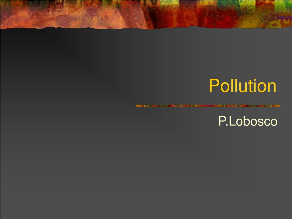 pollution l.