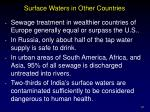 surface waters in other countries