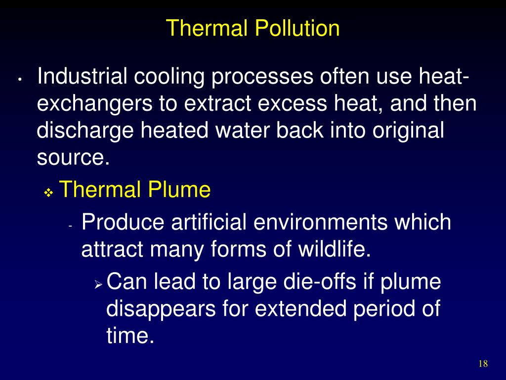 Thermal Pollution