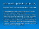 water quality problems in the u s5