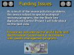 funding issues