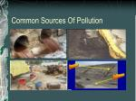 common sources of pollution12