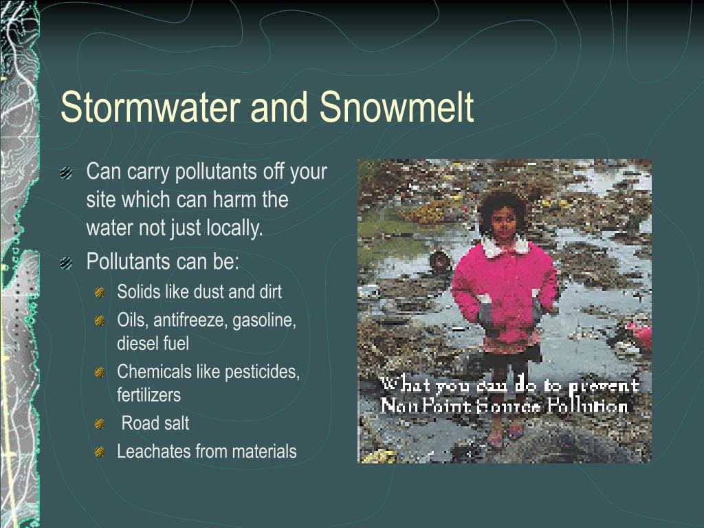 Stormwater and Snowmelt
