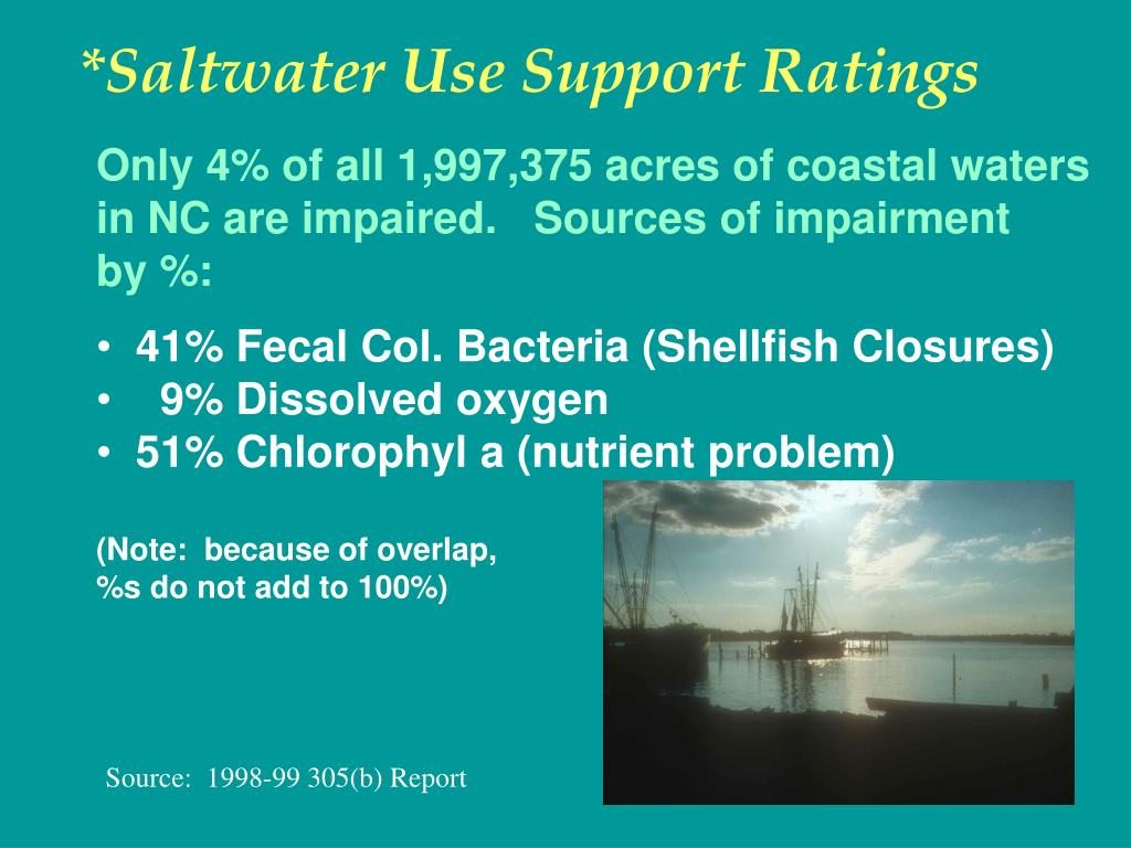 *Saltwater Use Support Ratings