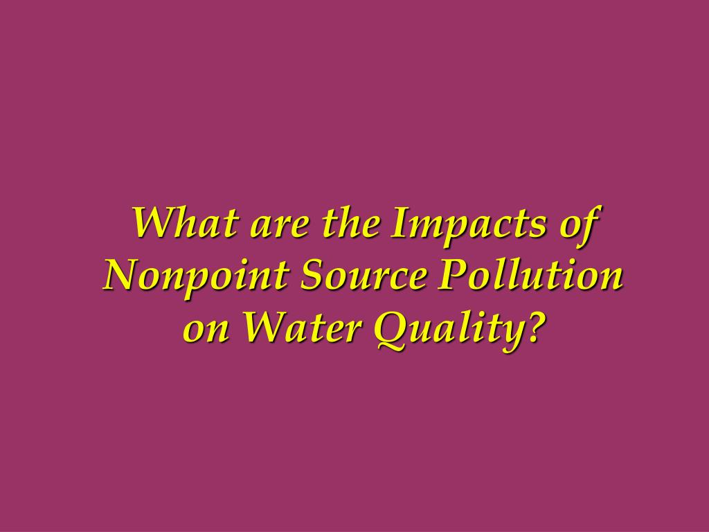 What are the Impacts of
