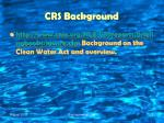 crs background