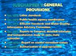 subchapter v general provisions13