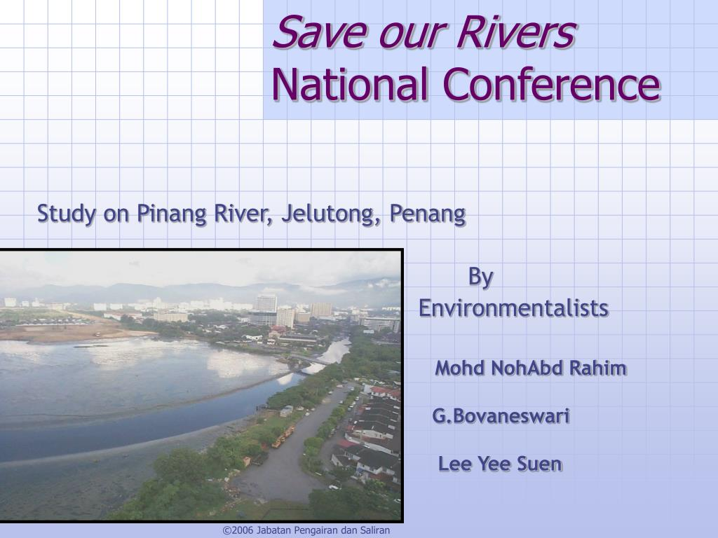 save our rivers national conference l.