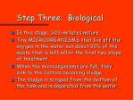 step three biological