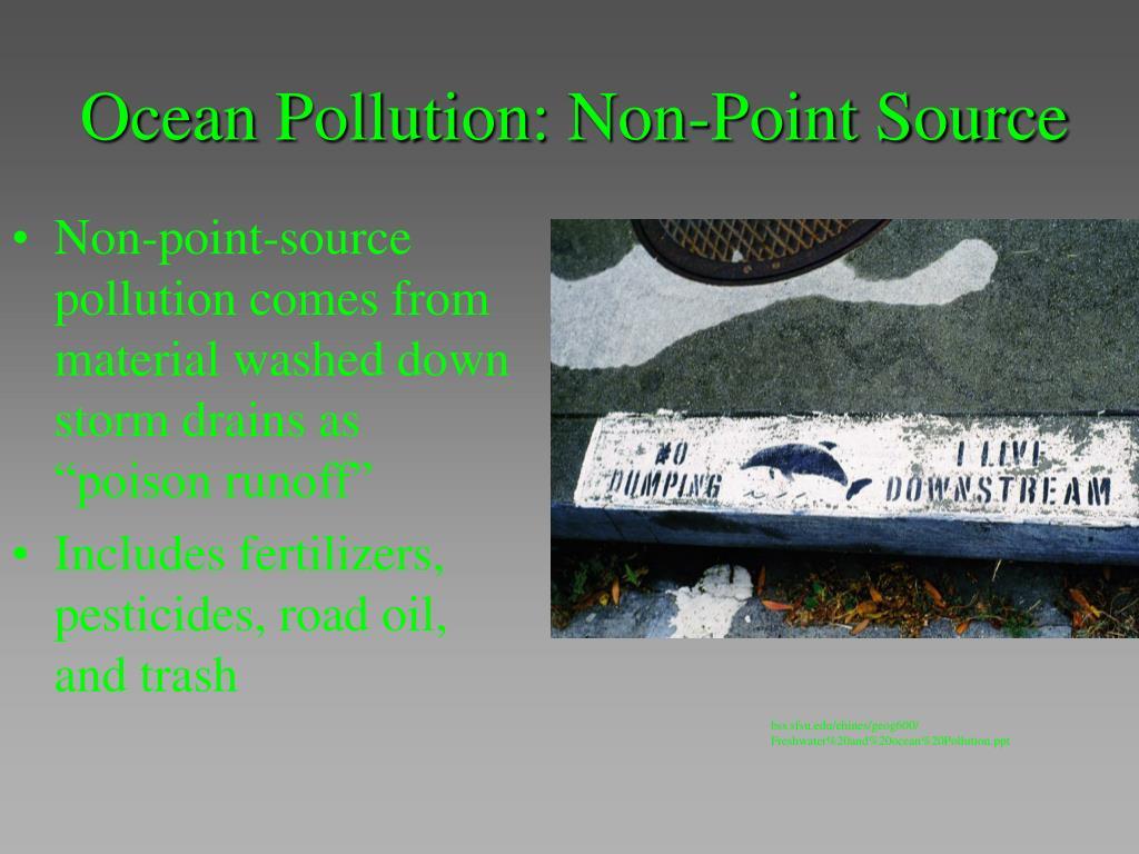 Ocean Pollution: Non-Point Source