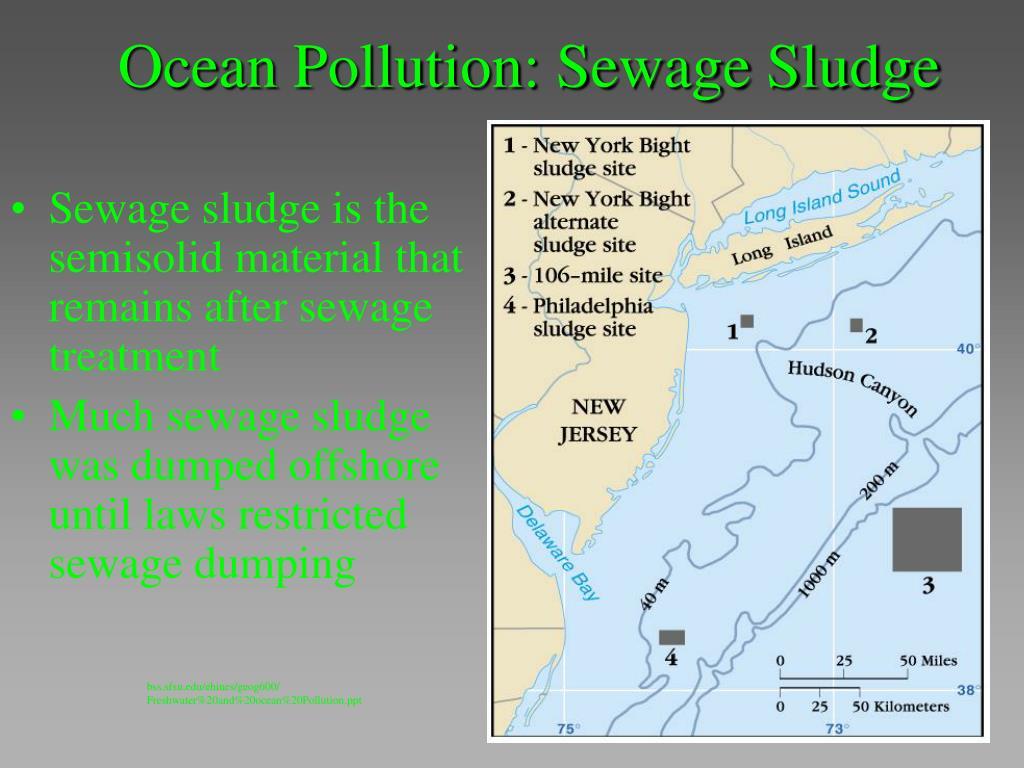 Ocean Pollution: Sewage Sludge