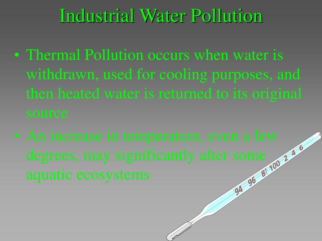 Industrial Water Pollution
