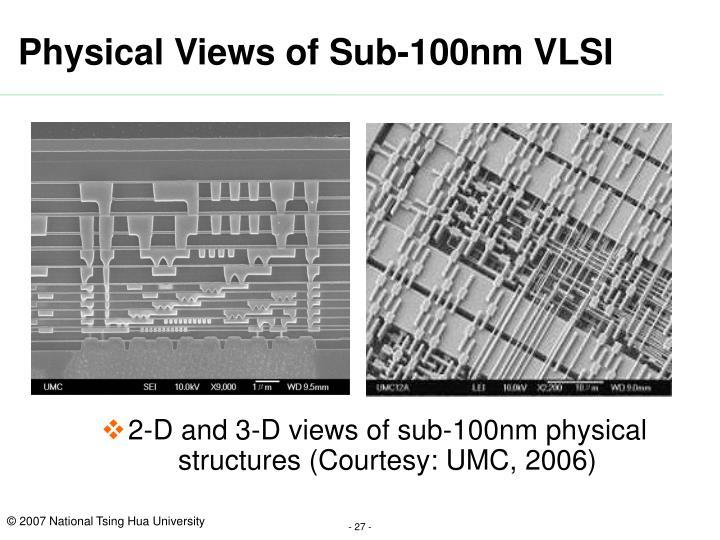 Physical Views of Sub-100nm VLSI