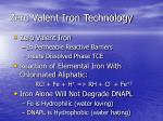 zero valent iron technology