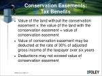 conservation easements tax benefits