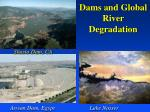 dams and global river degradation