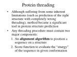 protein threading28