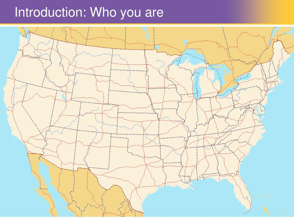 Introduction: Who you are