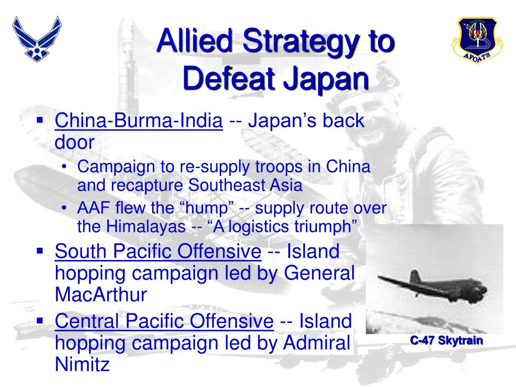 Allied Strategy to
