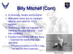 billy mitchell cont
