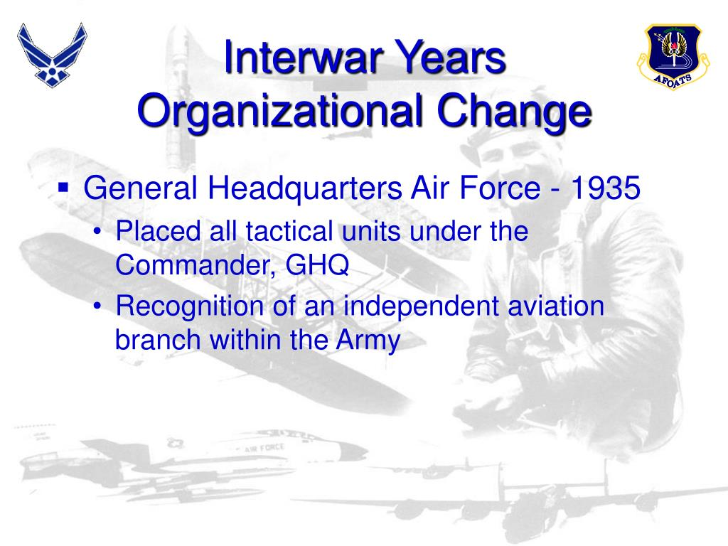 Interwar Years