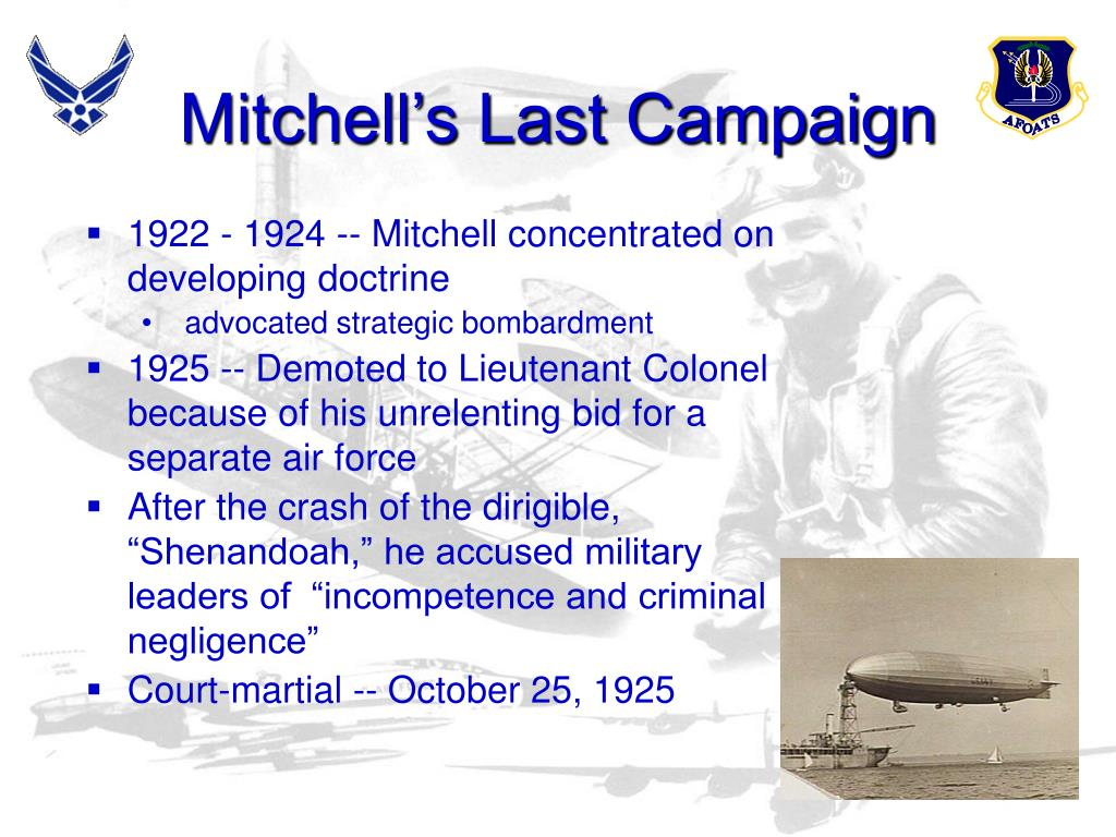 Mitchell's Last Campaign
