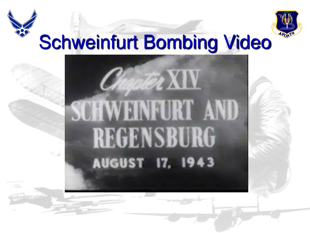 Schweinfurt Bombing Video