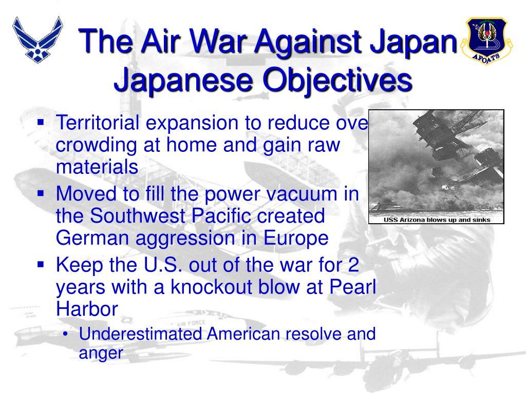The Air War Against Japan