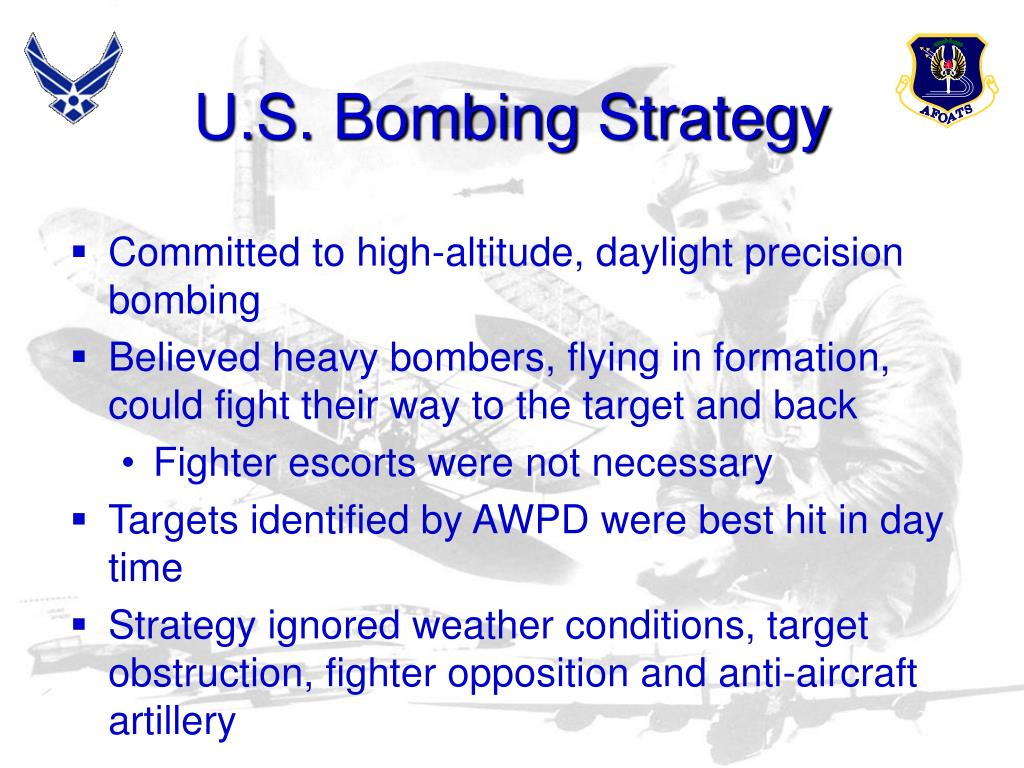 U.S. Bombing Strategy