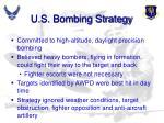 u s bombing strategy