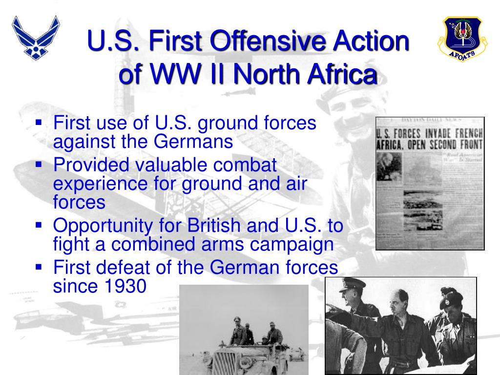 U.S. First Offensive Action