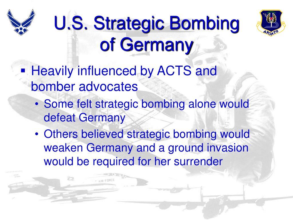U.S. Strategic Bombing