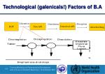 technological galenicals factors of b a