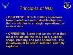 principles of war11