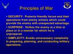 principles of war14
