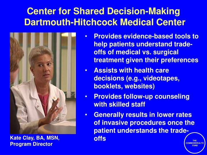 Center for Shared Decision-Making