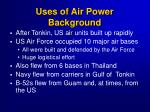 uses of air power background3