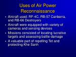 uses of air power reconnaissance