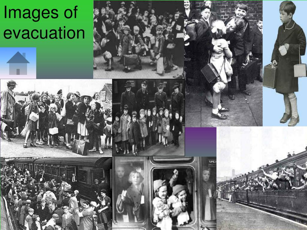 Images of evacuation
