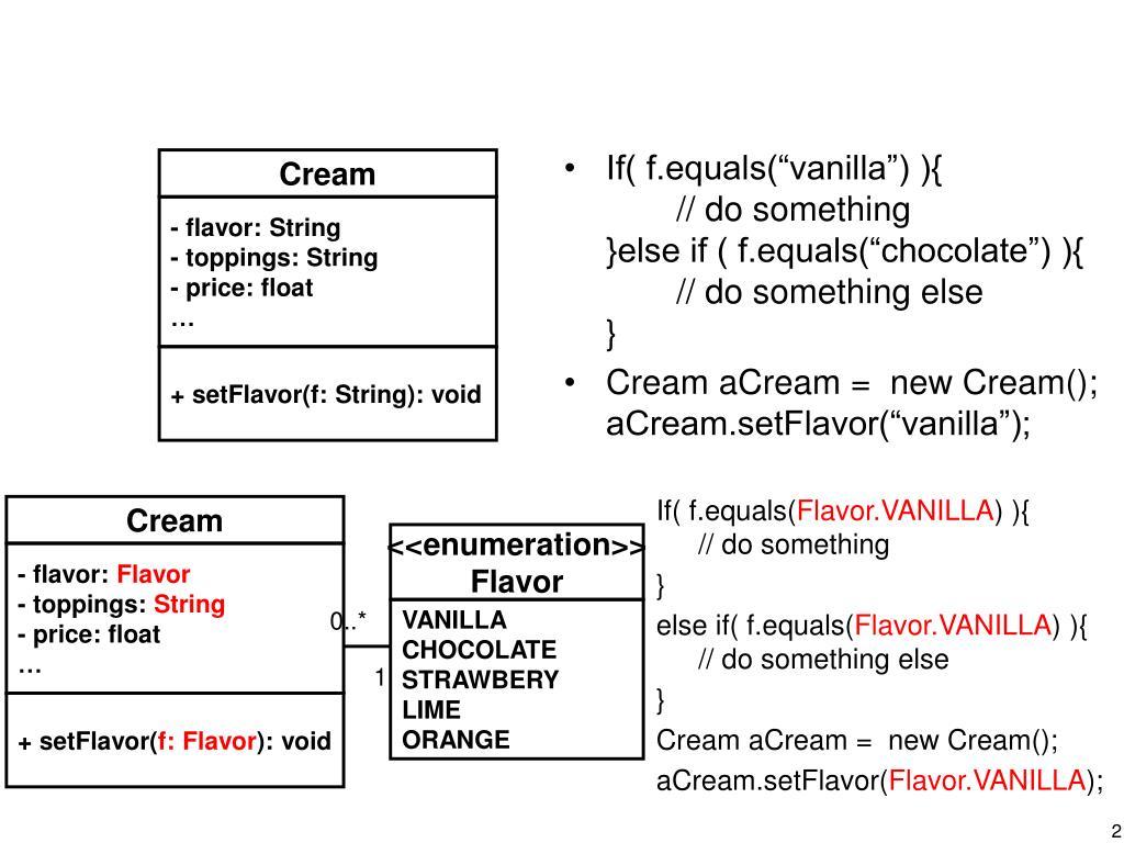 """If( f.equals(""""vanilla"""") ){"""