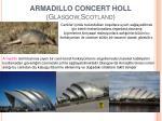 armadillo concert holl glasgow scotland