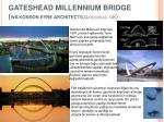 gateshead millennium bridge wilkonson eyre architects gateshead uk
