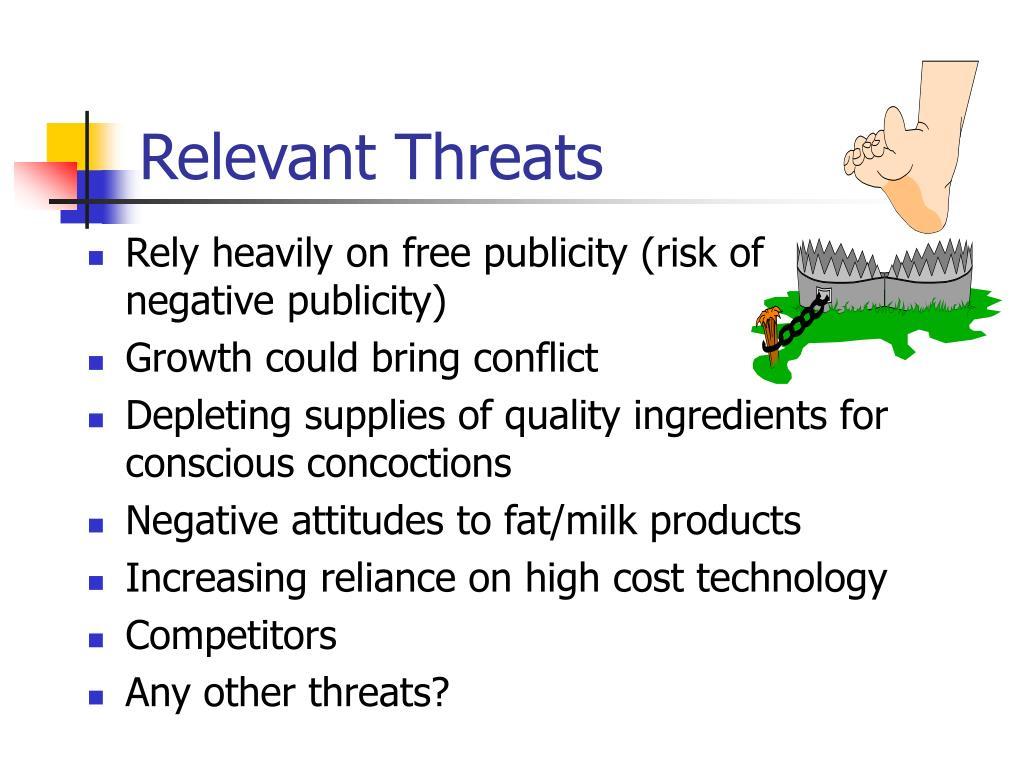 Relevant Threats